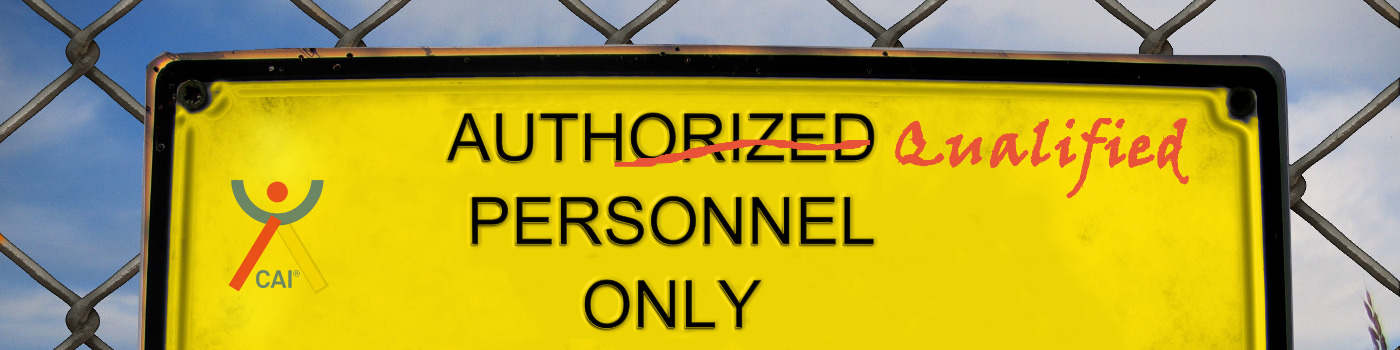 Authorized/Qualified Personel Only